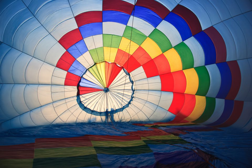 Meilleurs lieux pour faire un vol en montgolfière