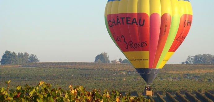 Vol en montgolfière en Aquitaine