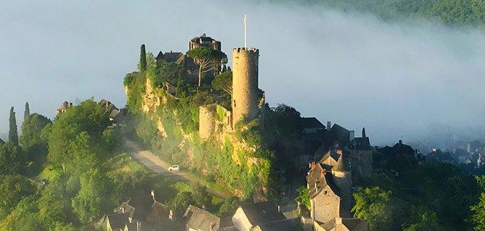 Vol en montgolfière en Corrèze