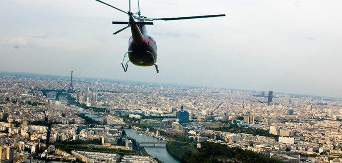 Hélicoptere Paris-Versailles