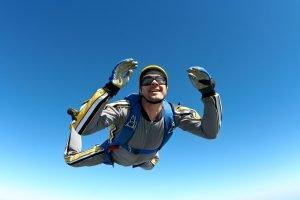 Nombre de sauts en parachute