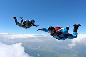 Saut parachute PAC