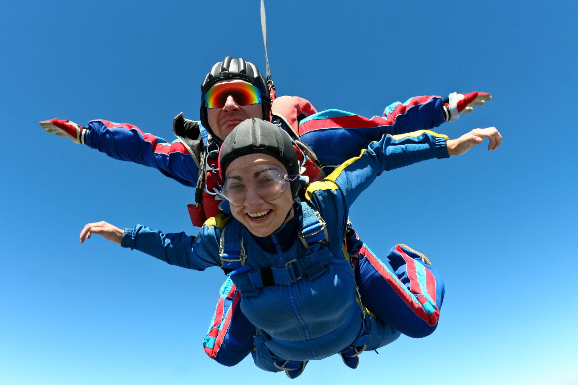 saut en parachute 14 juillet 2018