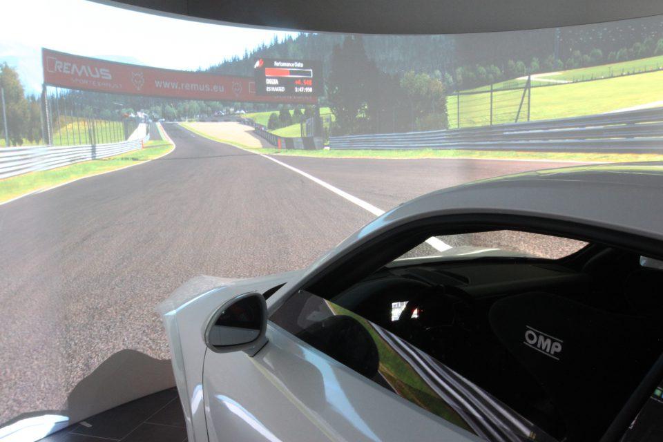 Simulation Pilotage Porsche