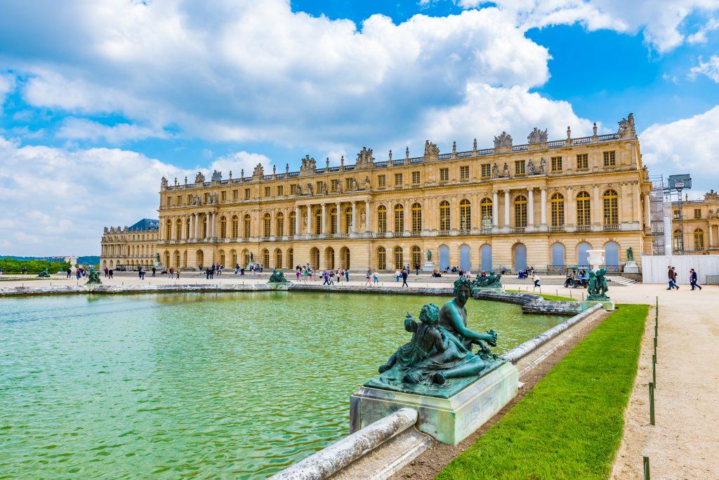 Vol en hélicoptère Château de Versailles