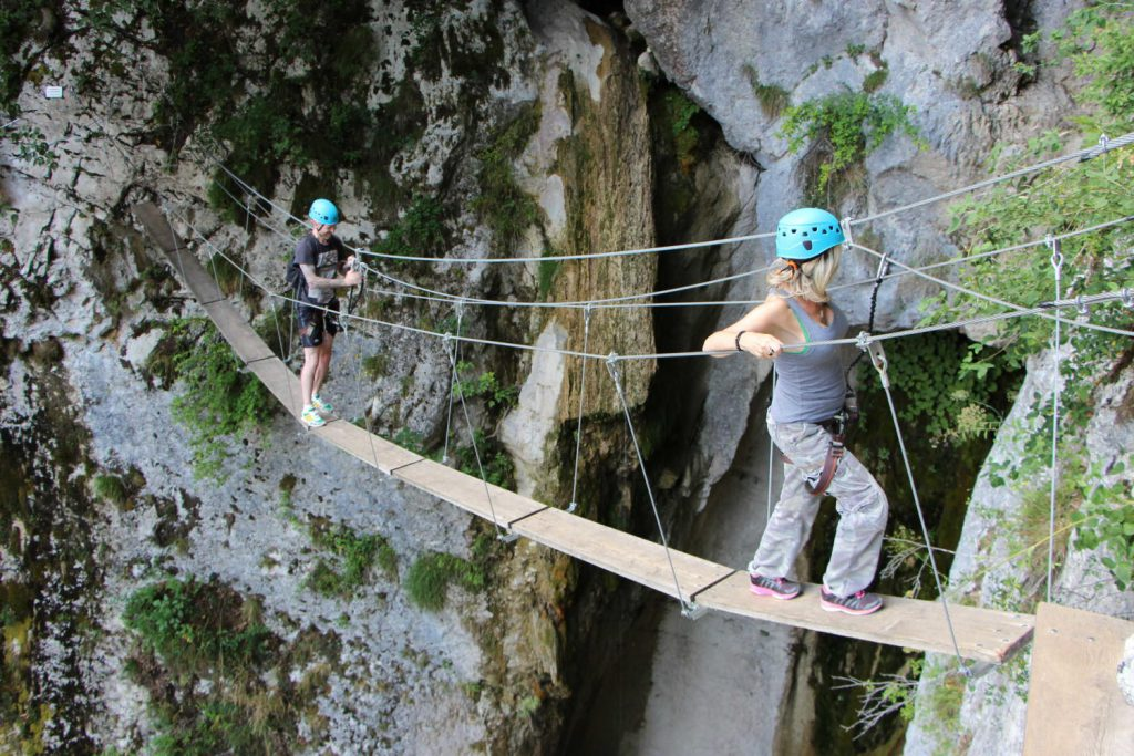 Via Ferrata Alloix