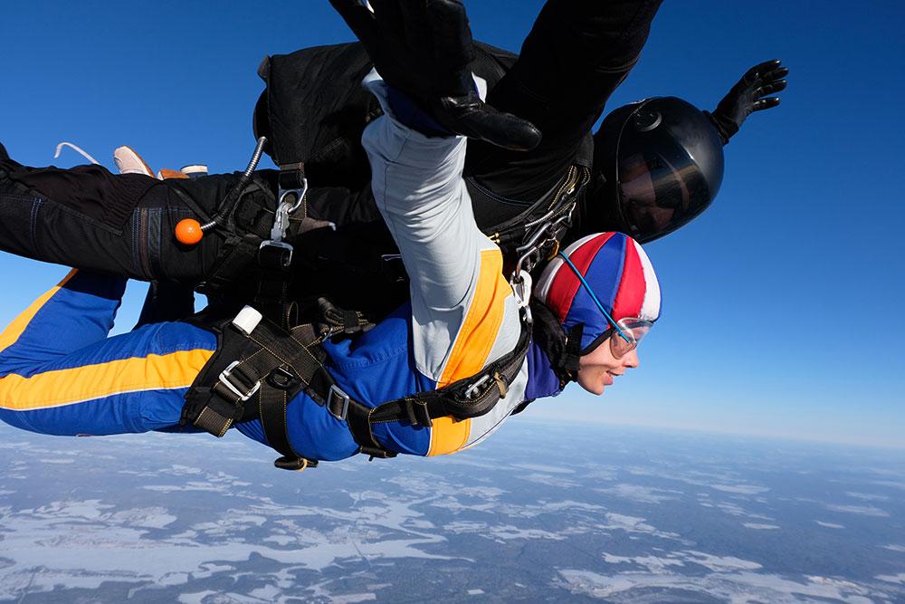 Saut en parachute prix