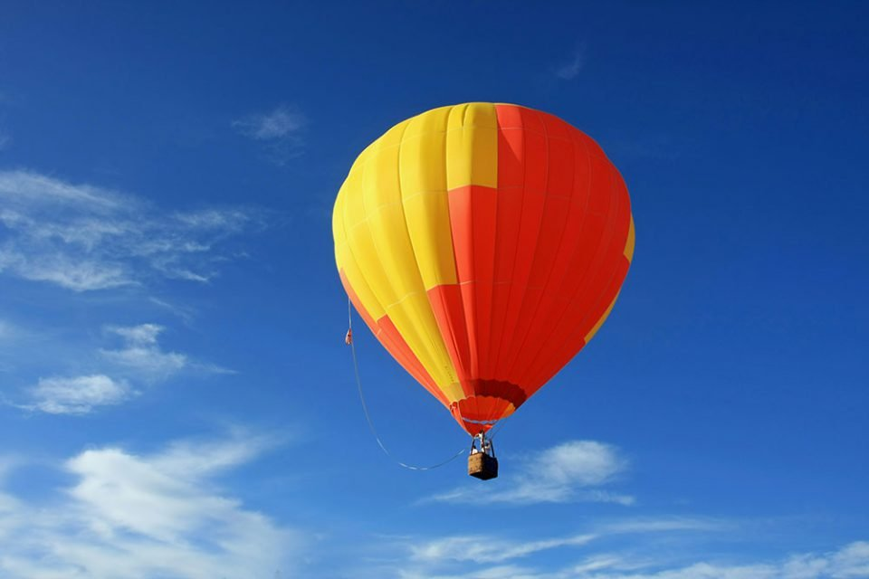 Prix vol en montgolfière