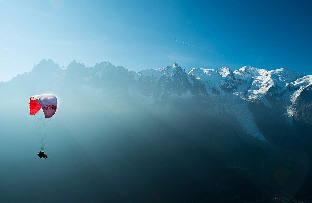 Parapente à Chamonix
