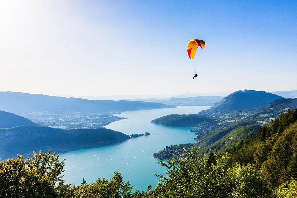 Parapente Lac d'Annecy