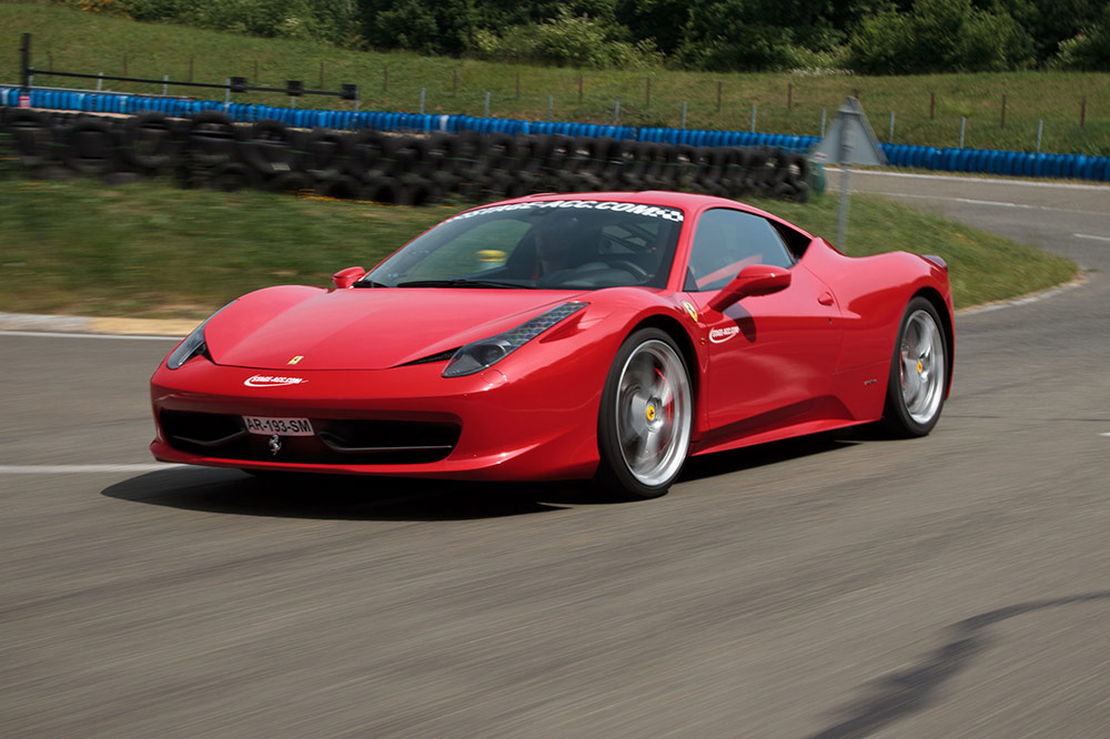 Pilotage sur Ferrari