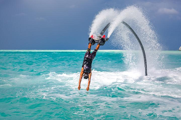 Plongeon flyboard
