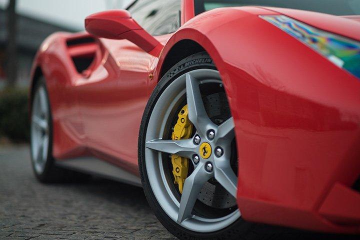 Détail Ferrari