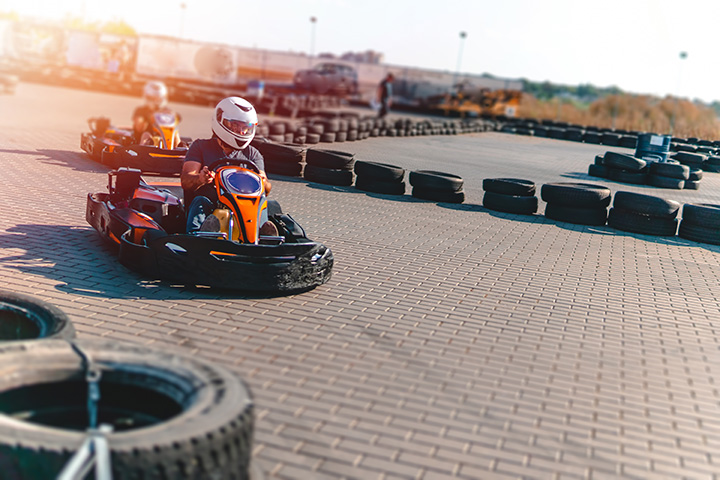 Karting en extérieur
