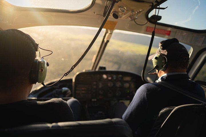 Pilotage d'hélicoptère